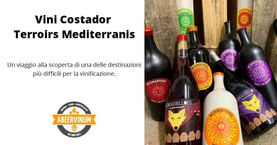 Costador Terroirs Mediterranis: vini spagnoli