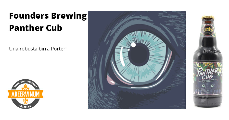 Birrificio Founders Brewing -  Birra Panther Cub