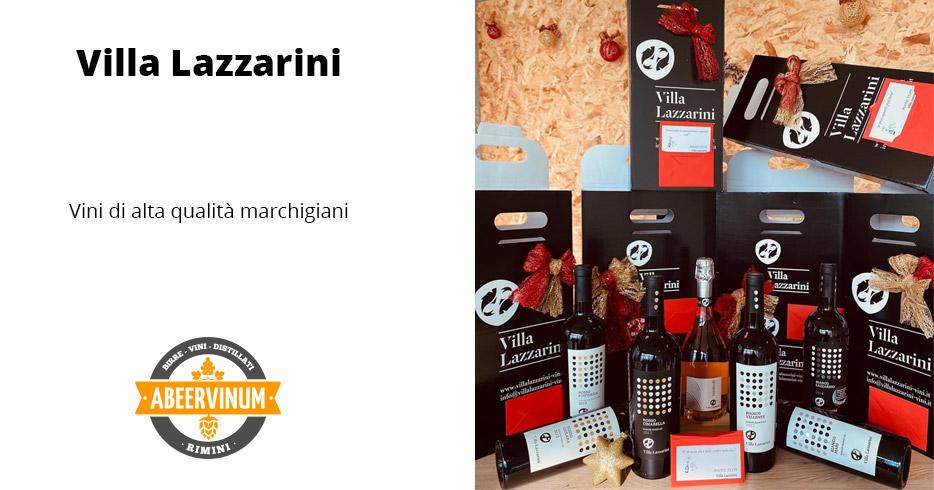 Villa Lazzarini: vini marchigiani di alta qualità