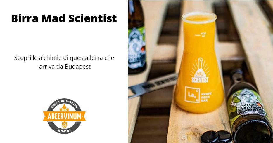 Nuovo birrificio: Mad Scientist
