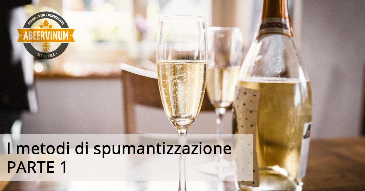I METODI DI SPUMANTIZZAZIONE: METODO CLASSICO (PARTE 1)