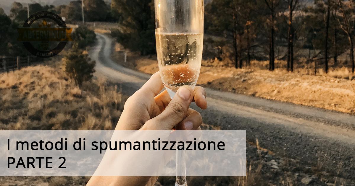 I METODI DI SPUMANTIZZAZIONE: METODO TRADIZIONALE (PARTE 2)