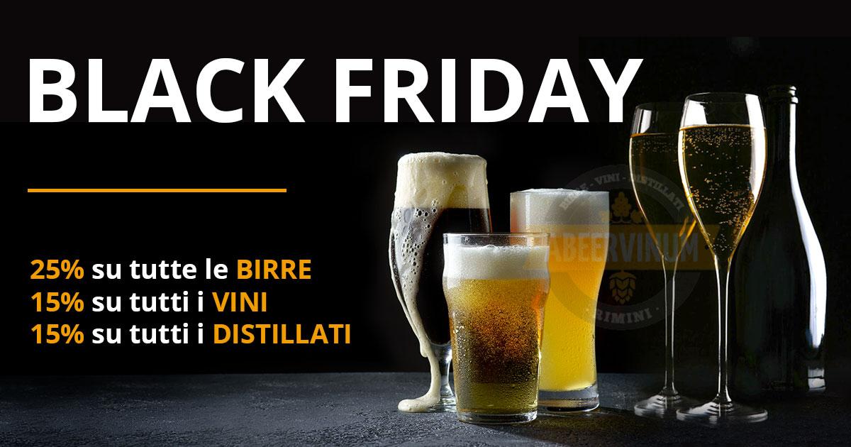 Black Friday 2020 birre vini distillati